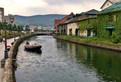 2017 初夏の北海道をゆく4日間の旅 1.究極の回転寿司と小樽運河