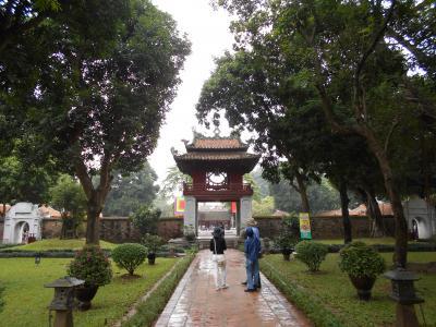 久しぶりに知り合いに会いに行きながら、東南アジア旅(2日目は知り合いとハノイ街歩き)