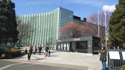 日曜日の六本木、たのしかったですよ。新国立美術館、書道展はアートでした。