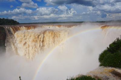 初めての夫婦南米旅行記⑤ ブエノスアイレス~イグアスの滝(見たことない滝)