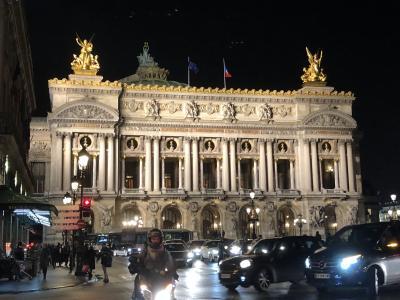 恒例の娘と2人旅 パリへ 1日目から3日目まで