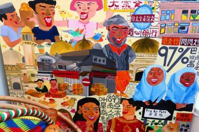 香港★葵涌へ行こう 南アジア人が多く住むエリア散歩 ~葵涌中心商場・共融館~