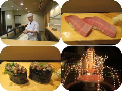 沖縄・久米島2019冬(19)アリビラ初日はやっぱり寿司食べ放題&光あふれる幸福のヴィラ