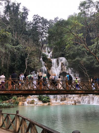 ラオス再訪の旅④:滝と丘にのぼるの巻