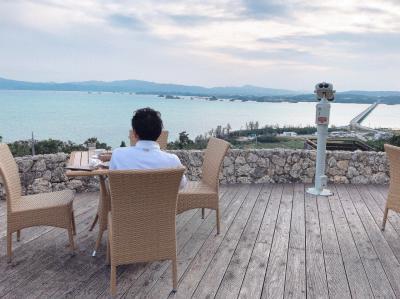 うるるん沖縄滞在記2018/12★第2日目★『ベルビーチゴルフクラブ』でゴルフをした後は本部半島をドライブ&観光(今帰仁城跡~古宇利島)。ディナーは『コロンバン』@名護の絶品ステーキ♪