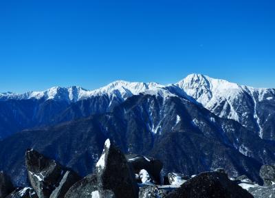 夜叉神・鳳凰山ピストン / 登山回数、甲斐駒と並ぶ15回