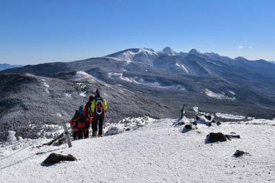 北横岳(八ヶ岳) ロープウェイ利用して白銀の雪山ハイク