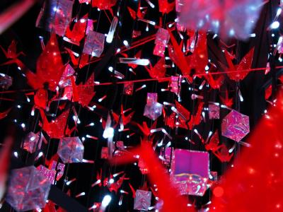 トワイライトの幻影;紅の飛翔/和イルミに誘われ Tokyo 空中散歩