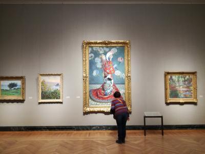 ボストン3日目     ビーコンヒル、ボストン美術館巡り、締めはキングスチャペル