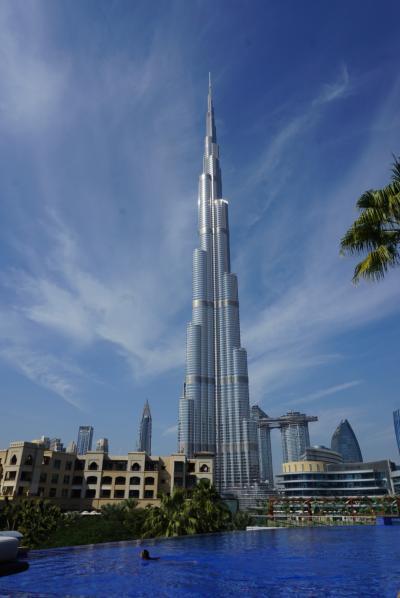 The address down town Dubai 宿泊記 レストラン プール<1歳2カ月 赤ちゃん連れ年末年始ドバイ旅行>