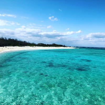 沖縄無人島 具志川島 圧巻の美しさ!!