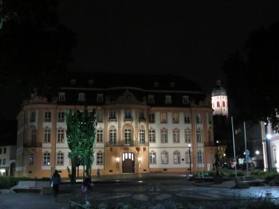 心の安らぎ旅行(2018年 春 Mainz マインツ Part25 Schillerplatz bei Nacht.夜のシラー広場♪)
