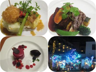 沖縄・久米島2019冬(22)アリビラベルデマールの「よくばりフレンチ」ディナー