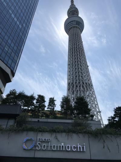 2018 長女と東京デート