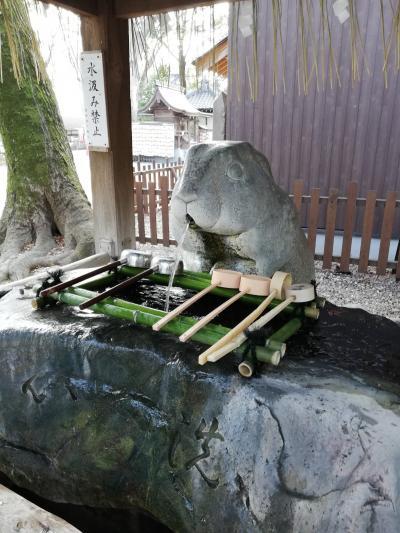 浦和 調(つき)神社にお礼のお参りに行きました。