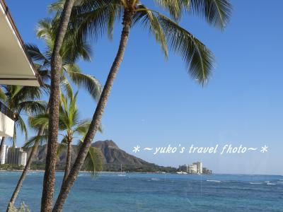 2019-冬 真冬の日本を脱出! 常夏のハワイ1日目