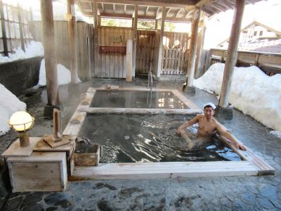 雪見風呂に入りたくて松之山温泉に