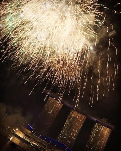 2018カウントダウンinシンガポール