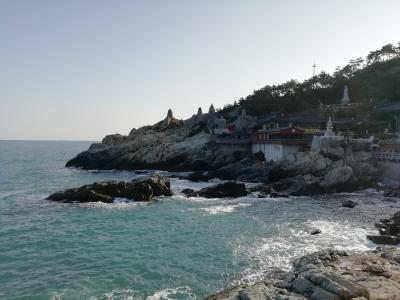 LCC往復で1万切らないとねっ♪⑤釜山1魅かれた海雲台エリアであえて1泊♪