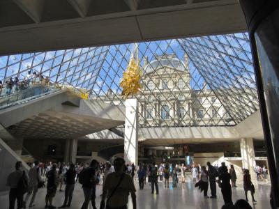 パリの街歩き2018(第4回)2日目午後 ルーブル美術館・オランジュリー美術館 Town walk in Paris/Louvre & Orangerie
