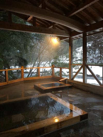 旅物語で富山の古湯  玄猿楼に泊まる