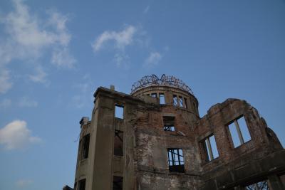 瀬戸内島巡り紀行 広島市原爆ドームを訪れて