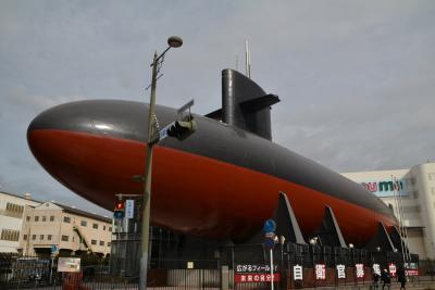 瀬戸内島巡り紀行 呉市 アレイからすこじま公園 てつのクジラ