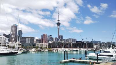 海外一人旅第17段はニュージーランドの大自然に癒される旅 - 2日目(オークランド編)