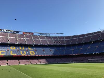 年始はバルセロナへ⑤FCバルセロナ!カンプノウ!