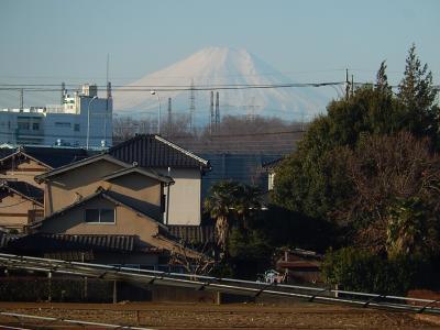 2月2日の富士山