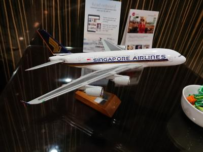 SINGAPORE AIRLINES A380-800 KIX→SIN[A380搭乗シリーズ第4段]