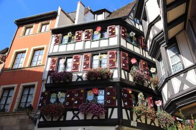 かわいい村巡り☆初秋のドイツ・黒い森とフランス・アルザス、木組みの家を求めて 3日目 その1 コルマール