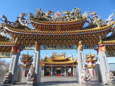 五千頭の龍が昇る聖天宮