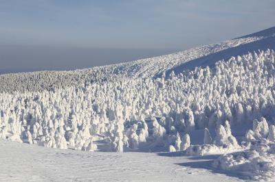 蔵王温泉スキー場へ