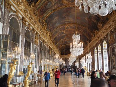 豪華絢爛ヴェルサイユ宮殿(フランスツアー4日目)