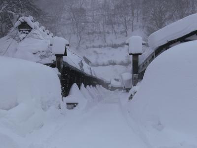 真っ白な世界*雪の乳頭温泉へ ☆ 大人の休日倶楽部パスで行く1泊2日【後編】