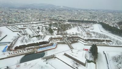 冬の函館 2泊3日一人旅 #3日目 長万部~函館五稜郭