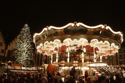 ドイツのクリスマスマーケット旅 フランクフルト