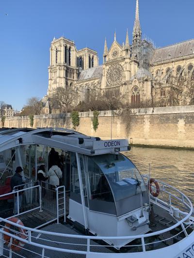 ディジョンからTGVでパリへ!!パリ1日目。