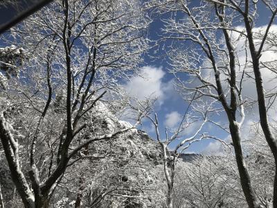 雪の六甲山