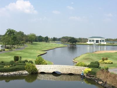 Thailandでenjoy golf