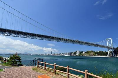 関門海峡を歩いて横断しました