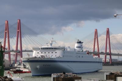 太平洋フェリーのニューきたかみ名古屋入港と船内見学会レポート