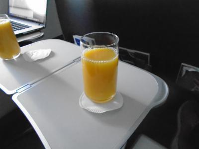 BA699(VIE-LHR)ビジネスクラス機内食