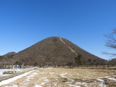 榛名富士と春名神社参拝。雪道が走りたかったけど・・