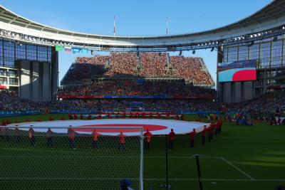 【ロシアワールドカップとチロル&ドロミテ】ワールドカップの日本対セネガル戦を観に美しい街エカテリンブルクへ