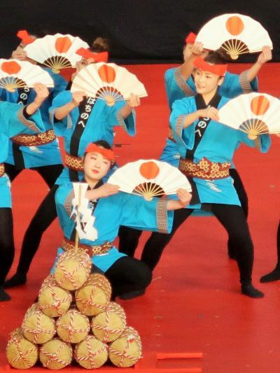 ふるさと祭り東京-5 八戸・南部俵積み唄a 軽快な祝い唄 ☆米俵積み上げめでたいな