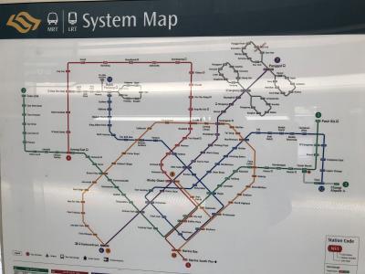 2018年 短期海外旅行 心外 シンガポール 長散歩編