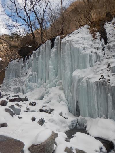 真冬にしか見れない景色を求めて~日光 雲龍渓谷