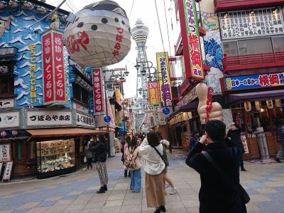 大阪散歩・日本一長い商店街の大衆寿司春駒と四天王寺と新世界あたりをぶらぶら歩く